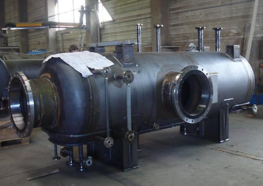 Druckbehälter für TGU-Anlage OMV