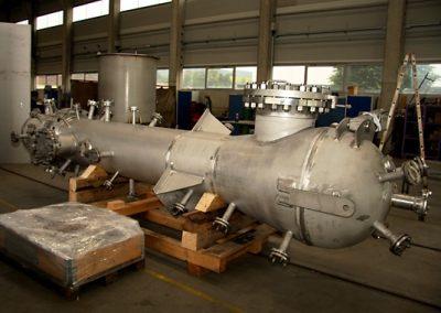 Gas phase reactor für OMV Schwechat PPS Projekt